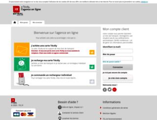 e-tecely.tcl.fr screenshot
