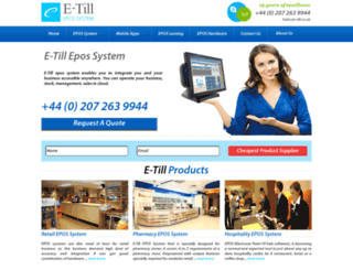 e-till.co.uk screenshot