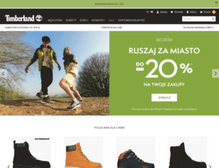 e-timberland.pl screenshot