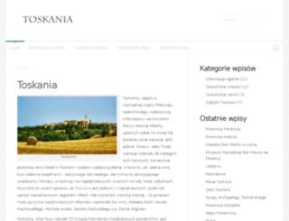 e-toskania.pl screenshot