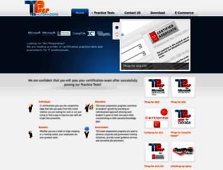 e-tprep.com screenshot
