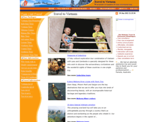 e-travelvietnam.com screenshot