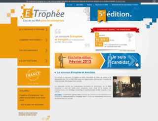 e-trophee.com screenshot