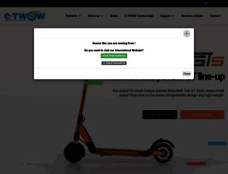 e-twow.com screenshot