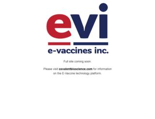 e-vaccine.com screenshot