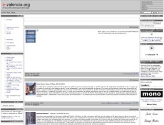 e-valencia.org screenshot