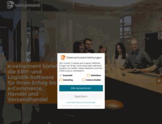 e-velopment.de screenshot