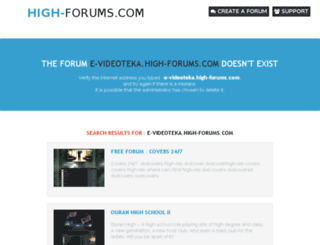 e-videoteka.high-forums.com screenshot