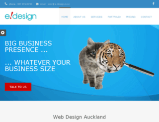 e-webdesign.co.nz screenshot