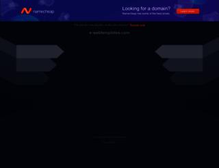 e-webtemplates.com screenshot