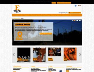 e-werk-cologne.com screenshot