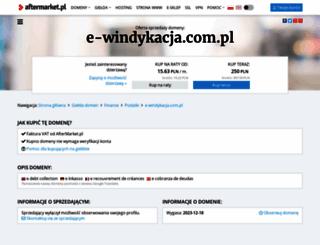 e-windykacja.com.pl screenshot