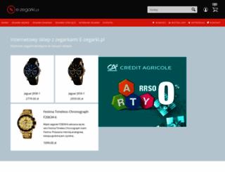 e-zegarki.pl screenshot