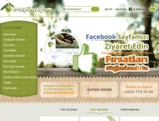 e-zeytinyagcim.com screenshot