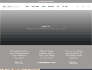 e.beyondyoga.com screenshot