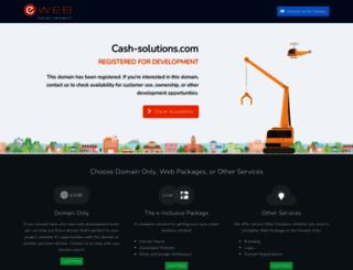 e.cash-solutions.com screenshot