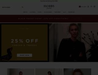 e.hobbs.co.uk screenshot
