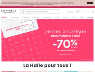 e.lahalle.com screenshot
