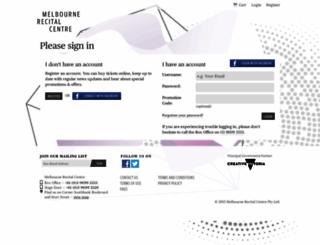 e.melbournerecital.com.au screenshot