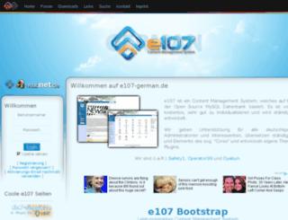 e107-german.de screenshot