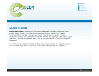 e10cdm.nl screenshot