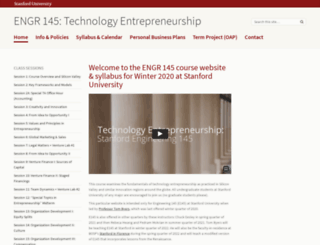 e145.stanford.edu screenshot