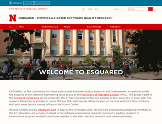 e2.unl.edu screenshot