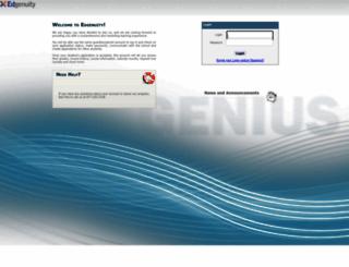 e2020.geniussis.com screenshot