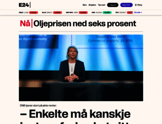 e24.no screenshot