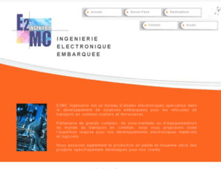 e2mc-ingenierie.fr screenshot