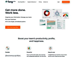 e3.fengoffice.com screenshot
