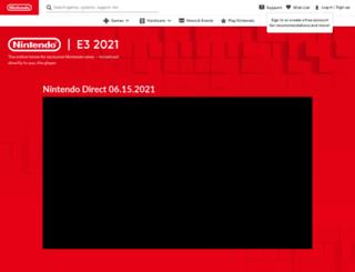 e3.nintendo.com screenshot