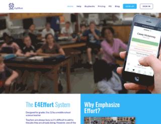 e4effort.com screenshot