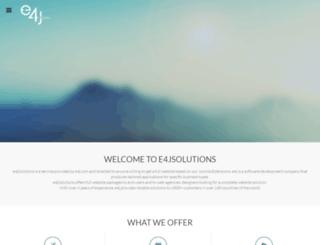 e4j.solutions screenshot
