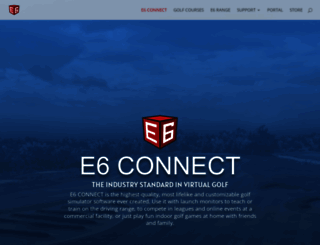 e6golf.com screenshot