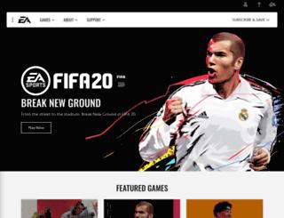 ea.com screenshot