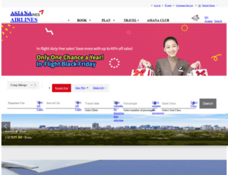 ea.flyasiana.com screenshot