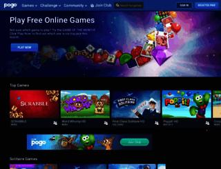 ea.pogo.com screenshot