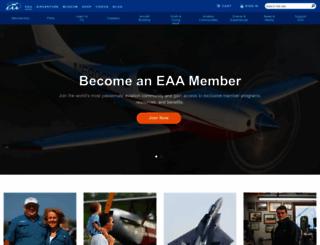 eaa.org screenshot