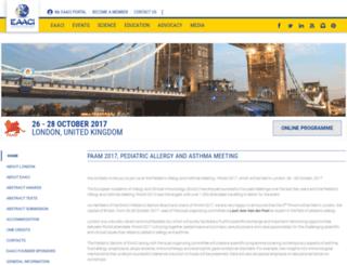 eaaci-paam.org screenshot