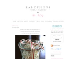 eabdesigns.typepad.com screenshot