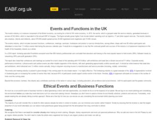 eabf.org.uk screenshot