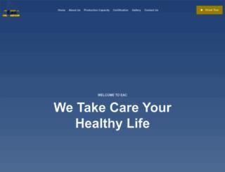 eac.com.eg screenshot