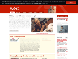 eac.org.uk screenshot
