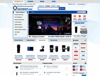 eachshot.com screenshot
