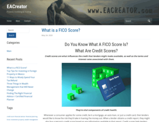 eacreator.com screenshot