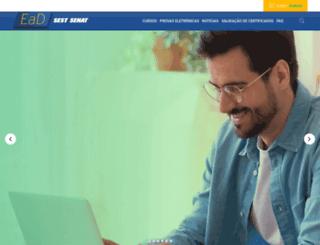 ead.sestsenat.org.br screenshot