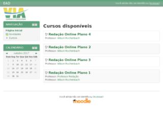 ead.viaeduca.com.br screenshot
