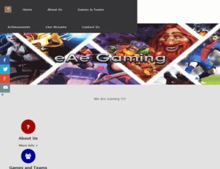eaegaming.co.za screenshot