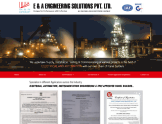 eaengineeringsolutions.com screenshot